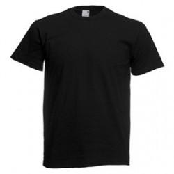 Тениска от трико TSRA 150 BK BLACK/черна/