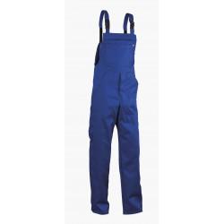 Памучен работен полугащеризон REX-BA /цвят син/