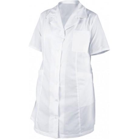 Медицински дрехи - Дамска манта с къс ръкав M44 Код: 3060-B1