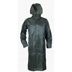 Coat with hood in practical package NEPTUN