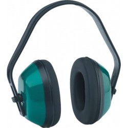 Light plastic shell ear-protector EAR 300/green/
