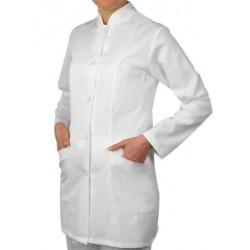 Women's medical tunic with long sleeves