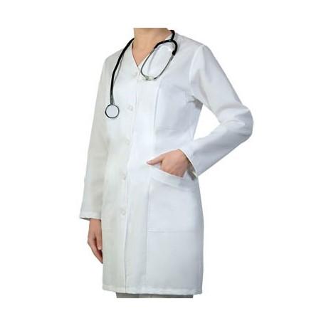 Дамска медицинска престилка с дълъг ръкав Код:4016