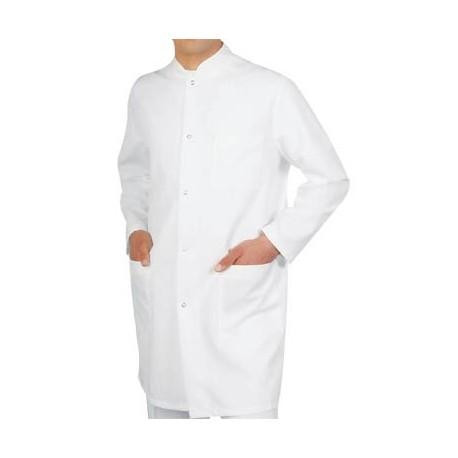 Мъжка медицинска манта с дълъг ръкав Код: 010423004