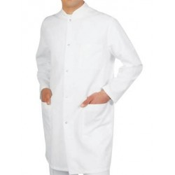 Man medical coat with long sleeve, model 4007