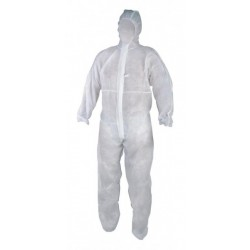 Protective coverall with hood I 600