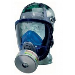 MSA Respiratory mask with 1 replaceable filter