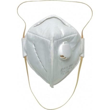 Сгъваема прахозащитна полумаска с клапа 651 FFP3 Код: 072056