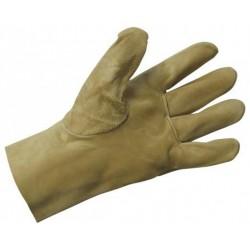 Работни ръкавици кожени от цепена свинска кожа PIGEON