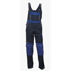 Working bib pants STANMORE with reflective tapes