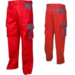 Работен панталон ASIMO /цвят червен/ Код: 0104058