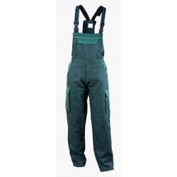 Работен полугащеризон ASIMO /цвят зелен/ Код: 0104295