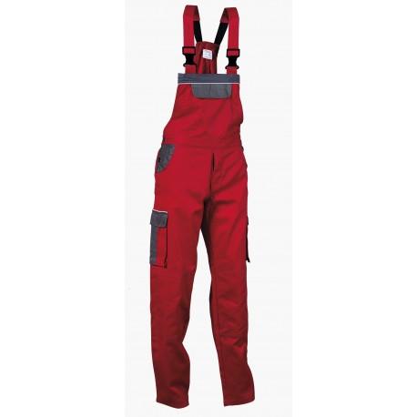 Работен полугащеризон ASIMO /цвят червен/ Код: 0104135