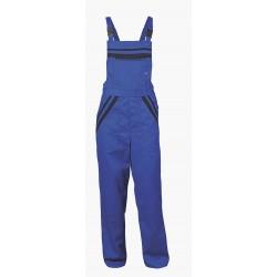 Работен костюм - полугащеризон и яке L1/цвят син/
