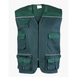 Vest with reflective piping ASIMO