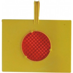 Plate with reflector PLATE