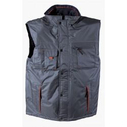 Thermal insulated vest PRESTON /gray/ Code:0104024