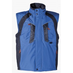 Waterproof thermal insulated vest NYALA /blue/ Code: 306225