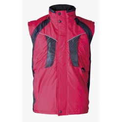 Waterproof thermal insulated vest NYALA /red/ Code: 0104095