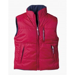 Women's two-faced vest ROSEVILLE /red/