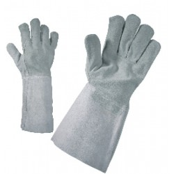 Cowsplit, cotton lining work gloves MERLIN Code: 0105019