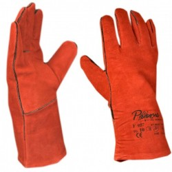 Working glove in red cow F 057 Code: 010511002