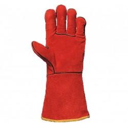 Работни ръкавици за заваряване от телешка кожа Код: 111012