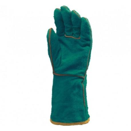 Работни ръкавици за заваряване от телешка кожа Код: 111011