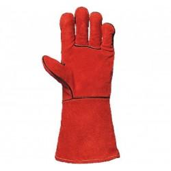 Работни ръкавици за заваряване от телешка кожа