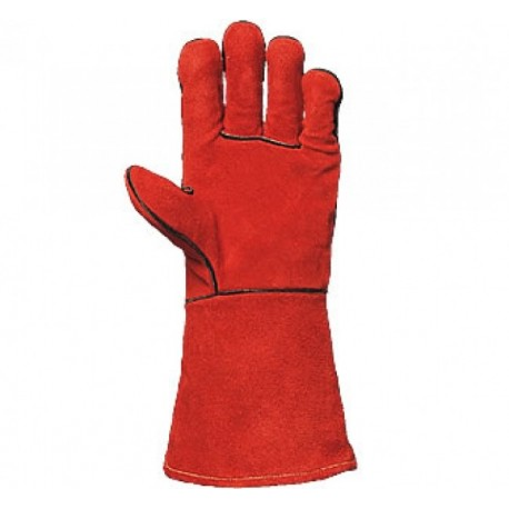 Работни ръкавици за заваряване от телешка кожа Код: 28091