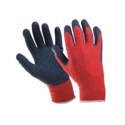 Работни ръкавици топени в латекс TOPGRIP Код: 01058034