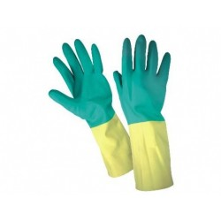 Work latex gloves Bi-Color A870-900