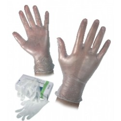 Disposable Vynil gloves RAIL
