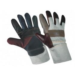 Работни зимни ръкавици от телешка кожа и плат FIREFINCH
