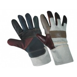 Work winter gloves of cow-hide palm FIREFINCH
