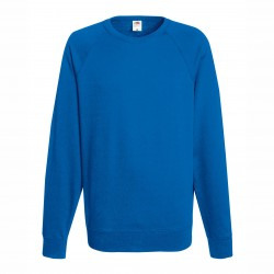Long sleeve fleece raglan shirt ID 10 - Blue