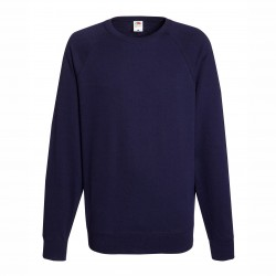 Long sleeve fleece raglan shirt ID 10 - Dark Blue