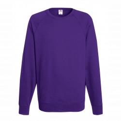 Long sleeve fleece raglan shirt ID 10 - Purple