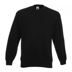 Men's long sleeve fleece shirt - ID 79 - Black