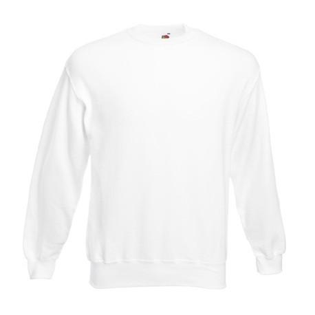 Мъжка блуза с дълъг ръкав ID 79 (бял цвят)