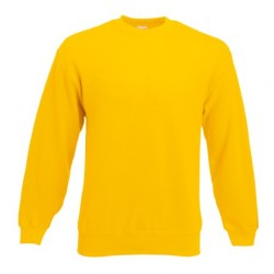 Men's long sleeve fleece shirt - ID 79 - Yellow