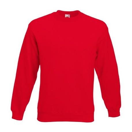 Мъжка блуза с дълъг ръкав ID 79 (червен цвят)