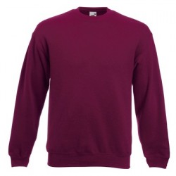 Men's long sleeve fleece shirt - ID 79 - Bordeaux