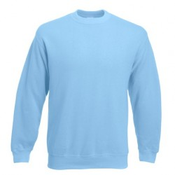 Men's long sleeve fleece shirt - ID 79 - Light Blue