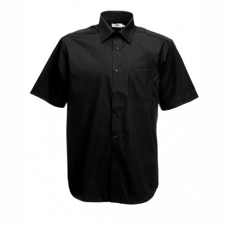 Елегантна черна мъжка риза