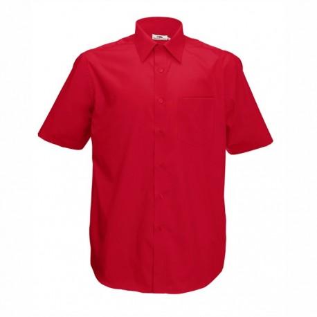 Елегантна мъжка риза в червен цвят
