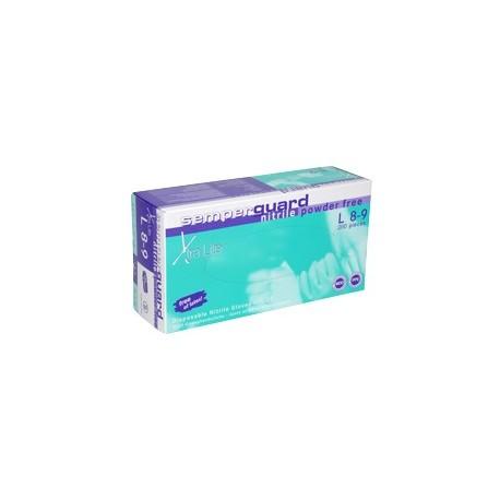 Медицински работни ръкавици от латекс F303 сини Код: 010511028