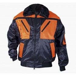 Waterproof thermoinsulate jacket BN CONTRAST PILOT (078055)
