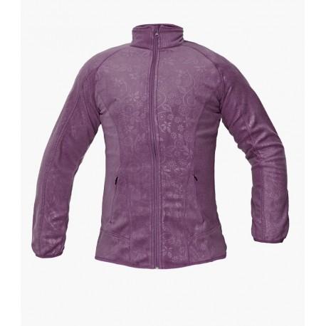Дамско поларено яке YOWIE FLEECE (лилаво)