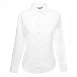 Дамска  риза с дълъг ръкав ID63 (бяла)